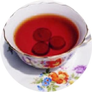 ぶどうの紅茶