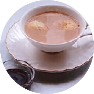 チョコバナナミルクティー